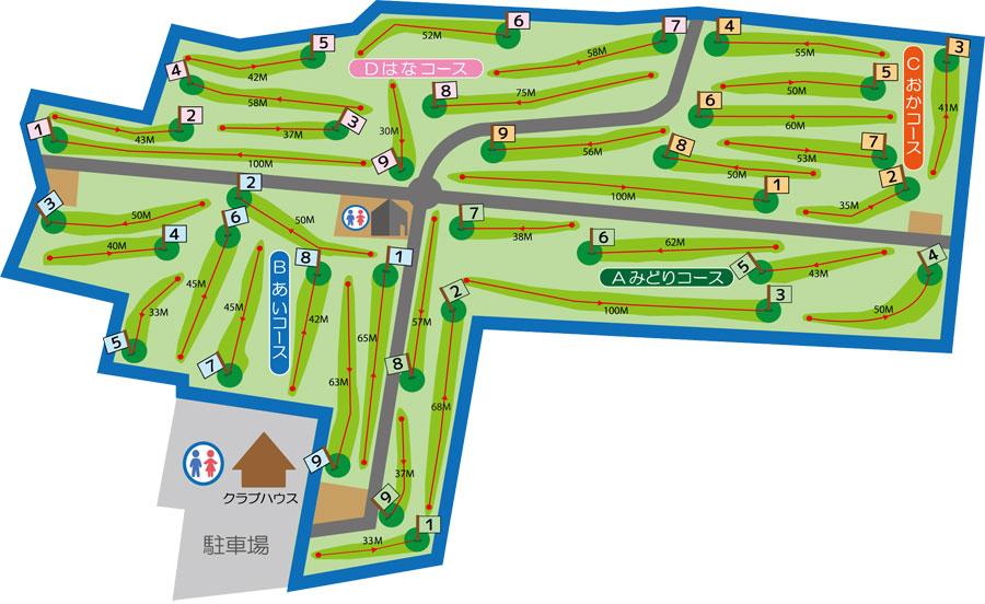 川西ダリヤパークゴルフ コース